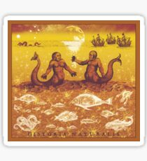 Natural History in Sunset Orange | CreateArtHistory Sticker