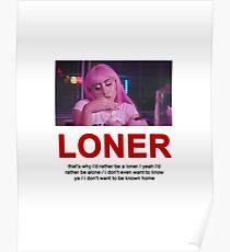 LONER KALI UCHIS DESIGN Poster