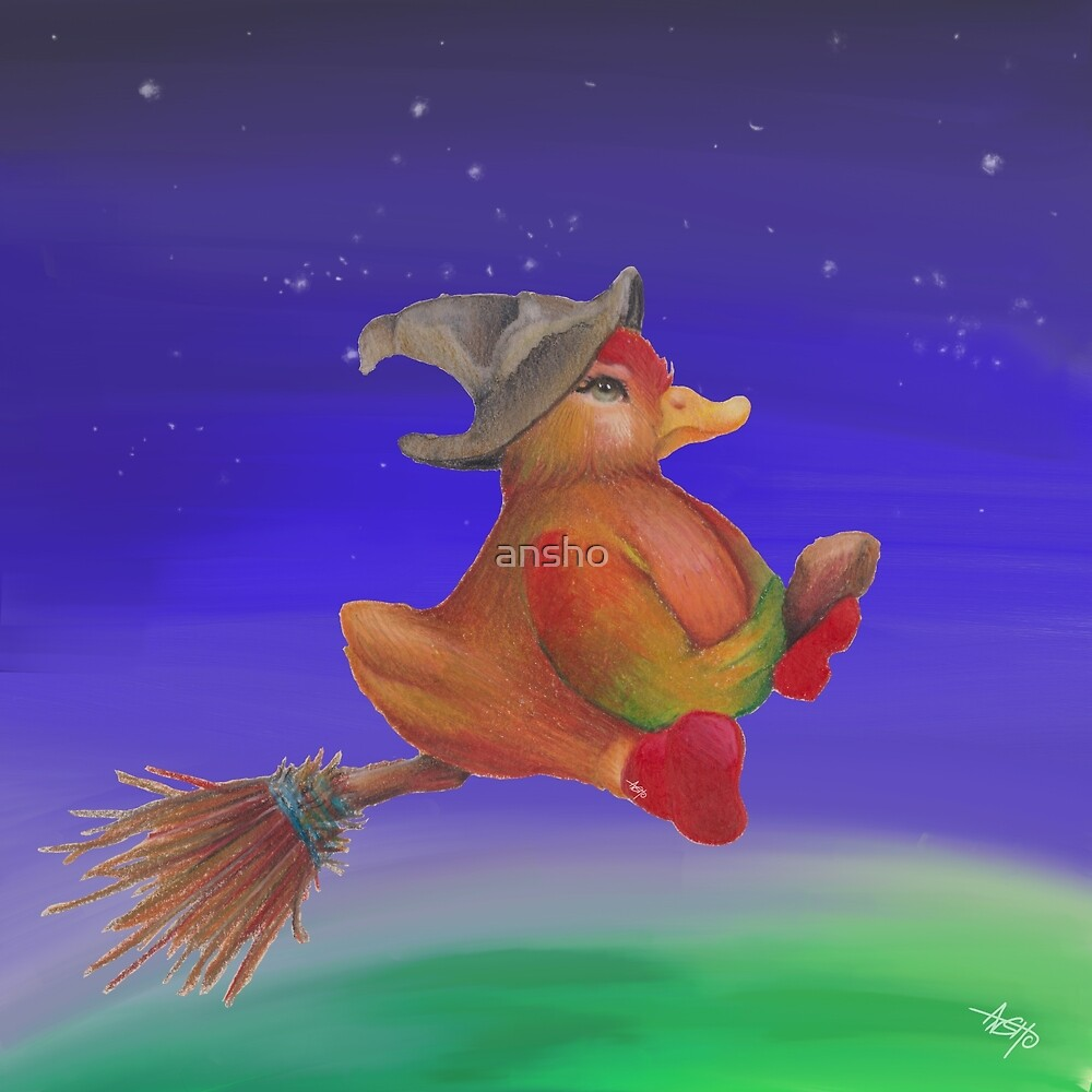 Snozzleberry Duck Witch von ansho