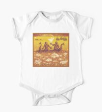 Natural History in Sunset Orange | CreateArtHistory Kids Clothes
