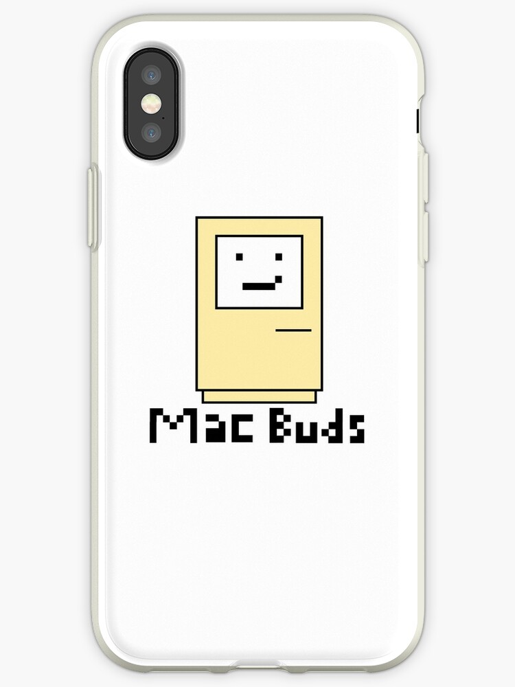 brand new 55103 c9f0c 'Mac Buds (Matching)' iPhone Case by Vector-Designs