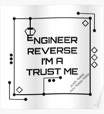 Trust Me, I am a Reverse Engineer- HaxByte Poster