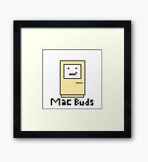 Mac Buds (Matching) Framed Print