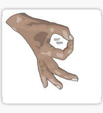 CirlceGame - GotEem Sticker