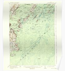 Maine USGS Historical Map Casco Bay 460290 1916 62500 Poster