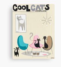 Cool Cats Magazine Canvas Print