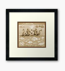 Natural History in Sepia | CreateArtHistory Framed Print