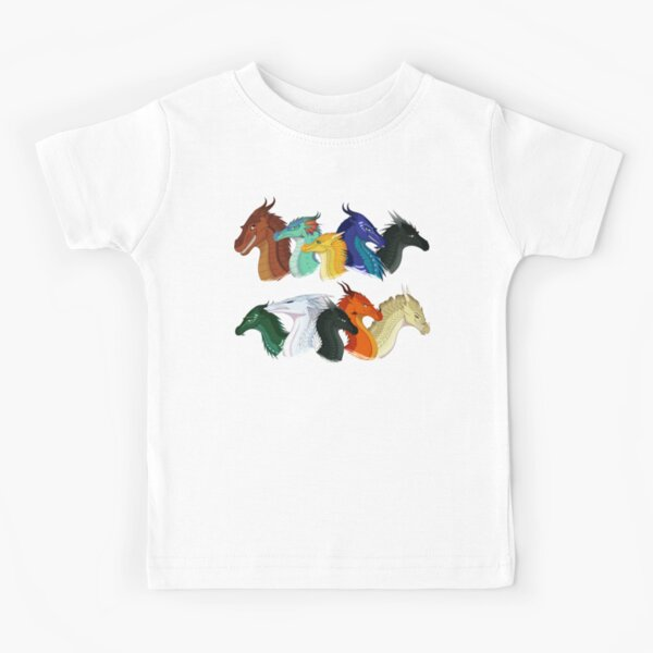 Wings of Fire - POV Characters Kids T-Shirt