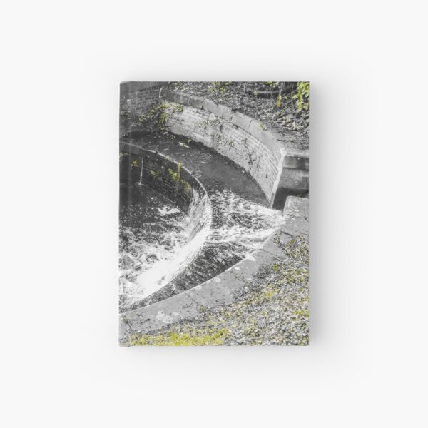 A pool and a canal in welshpool  Hardcover Journal