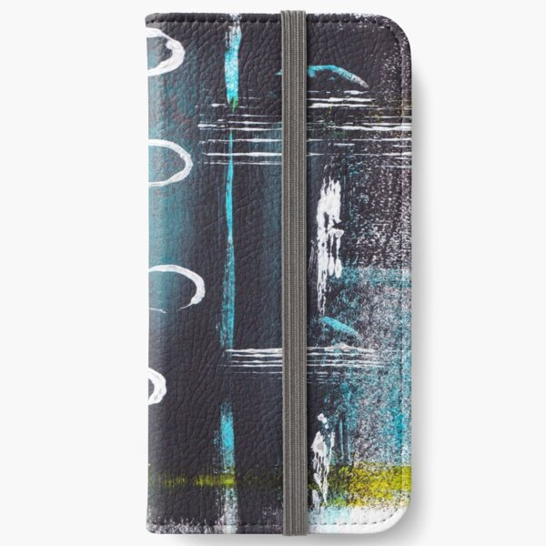 ABSTRACT WITH CIRCLES iPhone Wallet