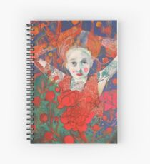 Peony's Bliss Spiral Notebook