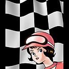 Trixie Speed Racer Checkered Flag! by drquest
