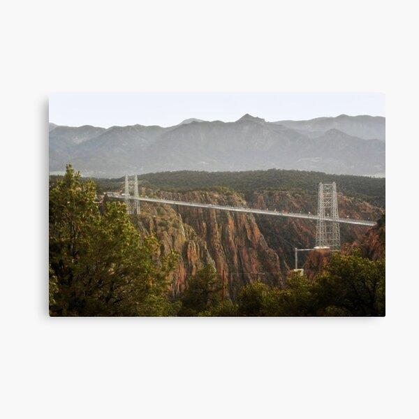 Royal Gorge Bridge, CO After A Thunderstorm Canvas Print