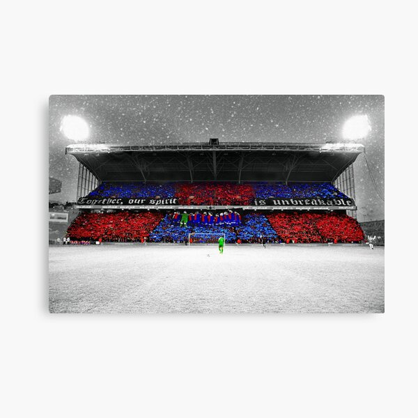 Cold Stands. Warm Hearts Canvas Print