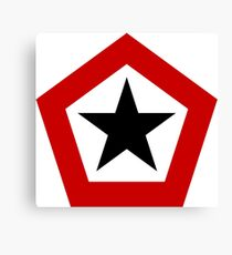 Roundel of the Indonesian Army Aviation Canvas Print