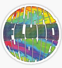 Colorful CFD Sticker