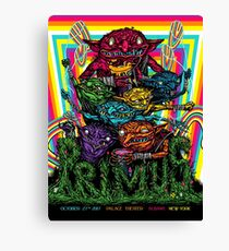 PRIMUS, Palace Theater Albany, New York October 27, 2017 Canvas Print