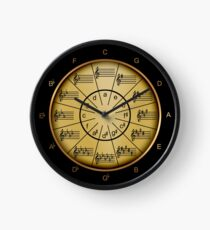 Timely Circle of Fifths Clock