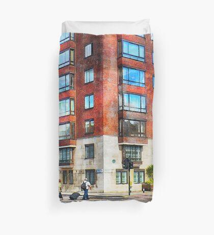 London city art 1 #london #city  Duvet Cover