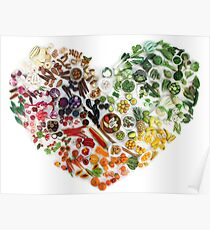 150 Days of Love, Fruit and Veggies Poster