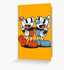 Cuphead® Cuphead and Mugman Greeting Card