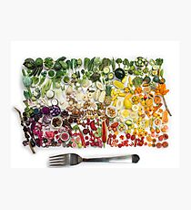 200 Days Of Miniature Fruit and Veggies Photographic Print