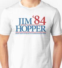 Camiseta ajustada Jim Hopper