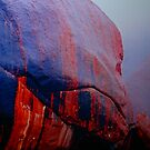 Uluru Painted By The Rains by Ronald Rockman