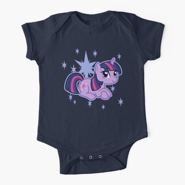 Twilight Sparkle Short Sleeve Baby One-Piece
