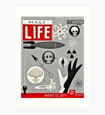 Halbes LIFE-Magazin Kunstdruck