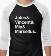 Jules & Vincent & Mia & Marcellus. (in white) T-Shirt