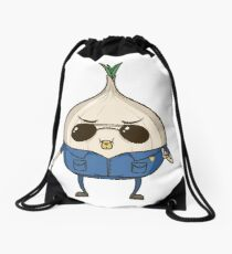 Officer Onion - The Toughest Onion on the Internet - HaxByte Drawstring Bag