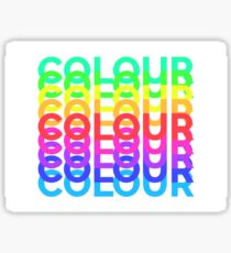 COLOUR Sticker