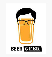Beer Geek Photographic Print