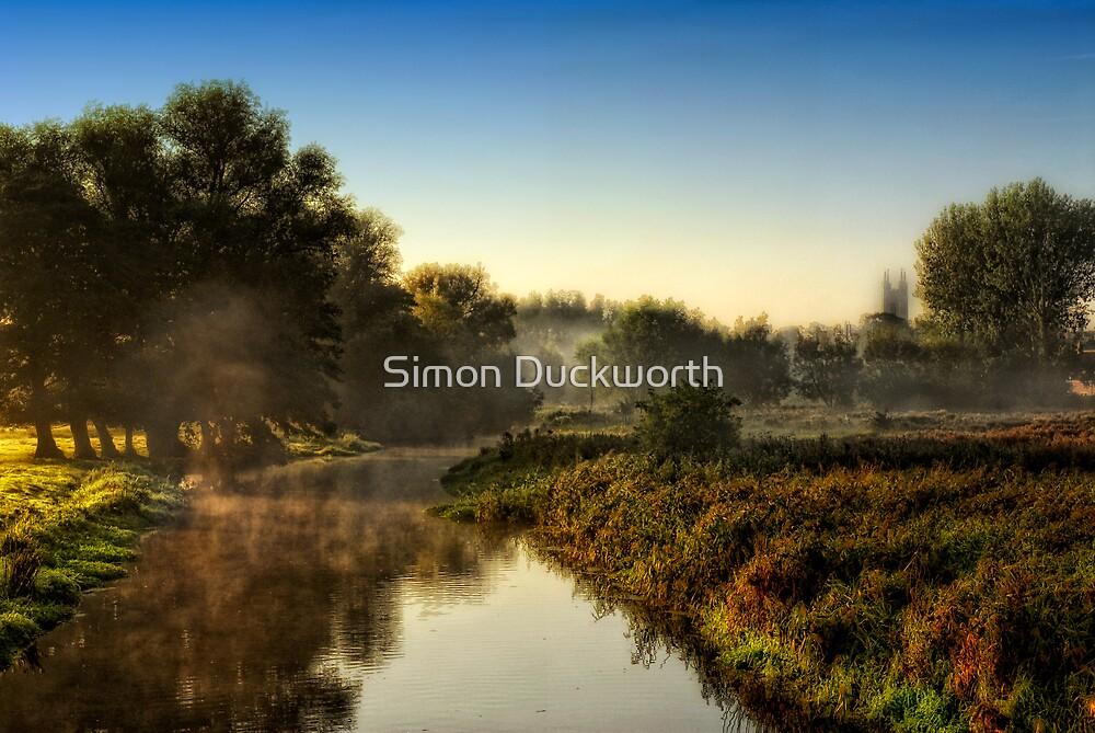 Mist rises by Simon Duckworth