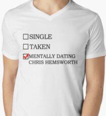 mentally dating chris hemsworth T-Shirt