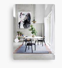 room with plein air  Canvas Print