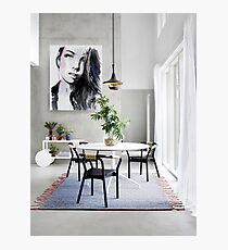 room with plein air  Photographic Print