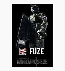 Fuze   R6 Operator Series Photographic Print