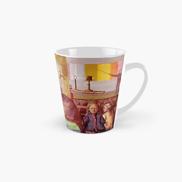 Occaisional Dream 9 mapping The Land. Tall Mug