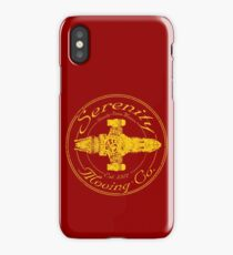 SERENITY MOVING CO.  iPhone Case