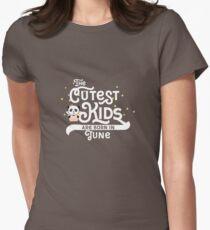 Cutest Kids Panda born in June newborn-Design T-Shirt
