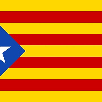Catalonia Catalunya Republic Flag Sticker by MikePrittie