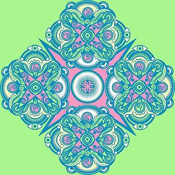 Mandala Spring by Grafx-Guy