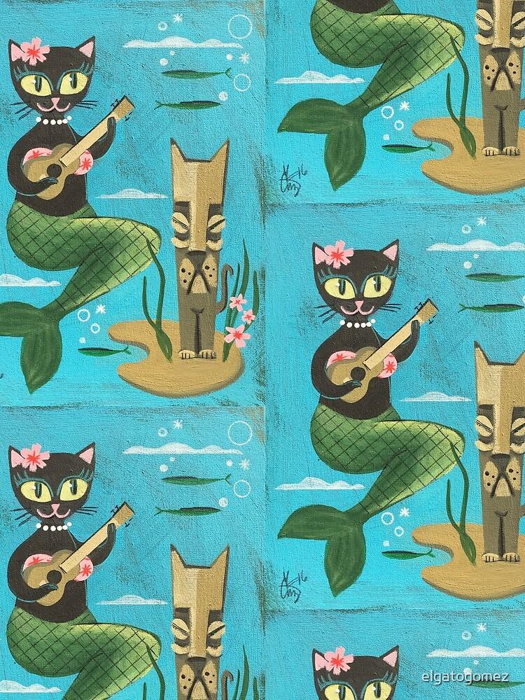 Tiki Cat by elgatogomez