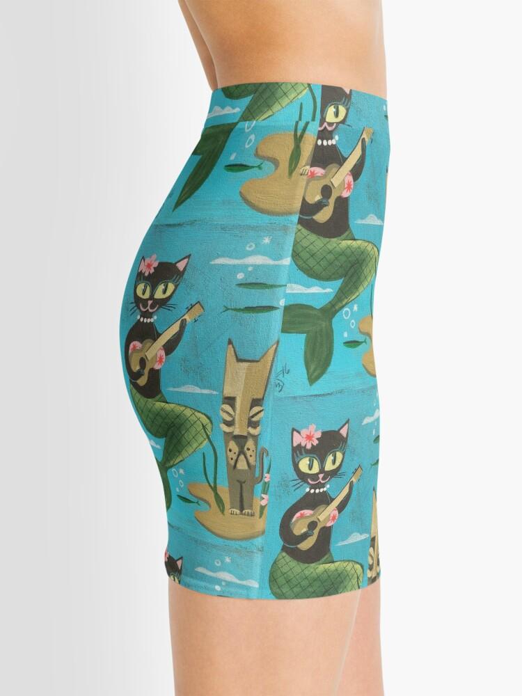 Alternate view of Tiki Cat Mini Skirt