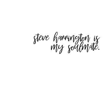 steve harrington. by glitteredgold