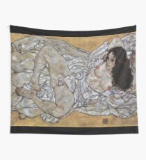 "Egon Schiele ""Woman"", 1917 Wall Tapestry"