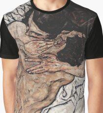"Egon Schiele ""Pair embracing"", 1917 Graphic T-Shirt"
