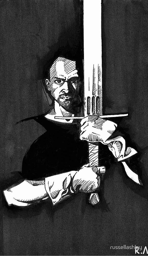 Swordsman by russellashley